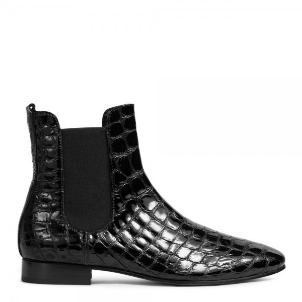 Chelsea-Boots DIXIE aus Leder