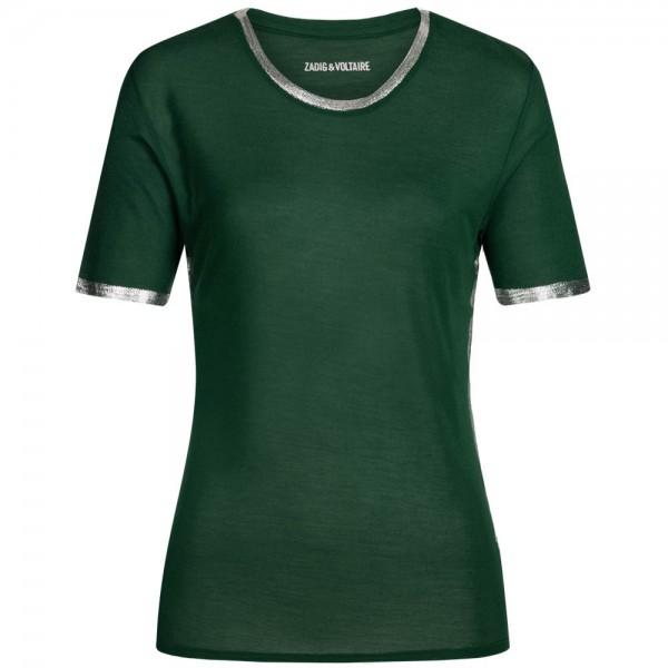 Shirt PETRA FOIL mit Metallic-Finish