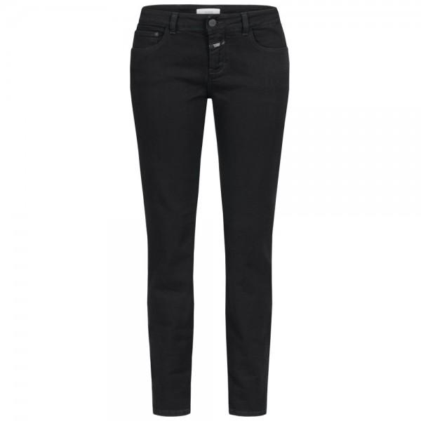 Closed Jeans Hose Baker Mid Waist Black Front