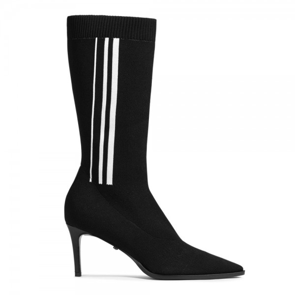 Halbhohe Sock-Boots SMOOTH ATTRACTION