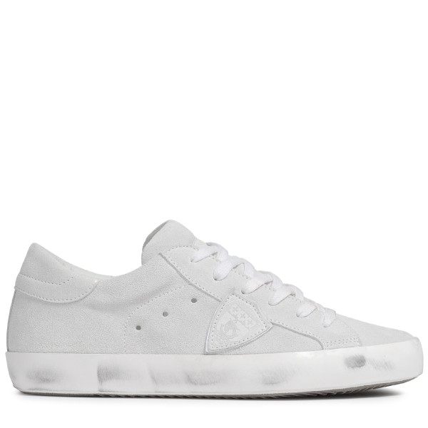 Sneaker PARIS SUEDE BLANC