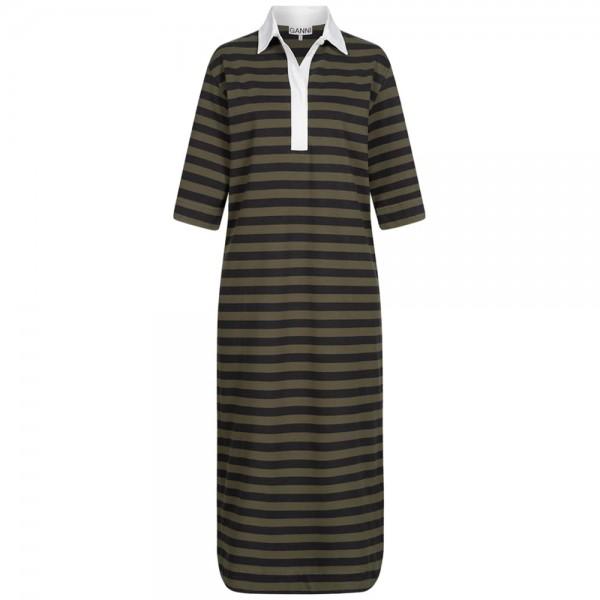 Polo-Kleid KALAMATA mit Streifen