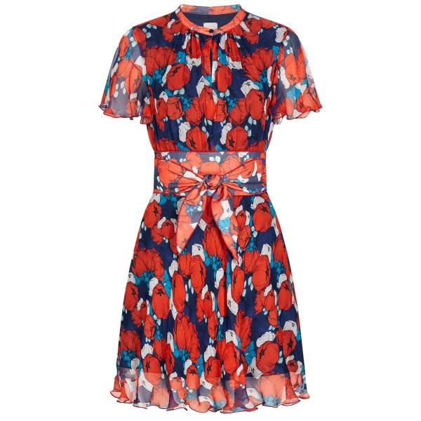 Kleid DATABILE mit floralem Allover-Muster