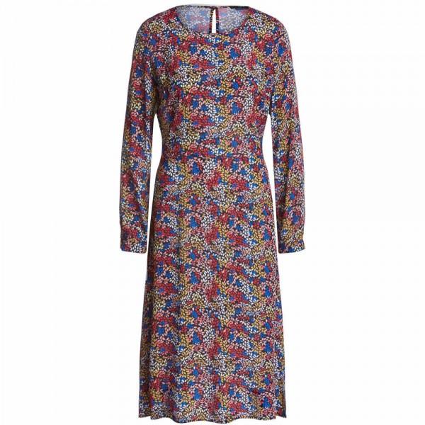 Kleid aus Viskose mit floralem Print