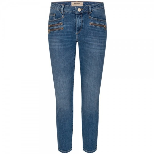 Jeans BERLIN RE-LOVED JEANS mit Zip-Details