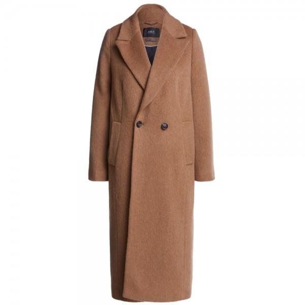 Mantel mit Wolle und Mohair