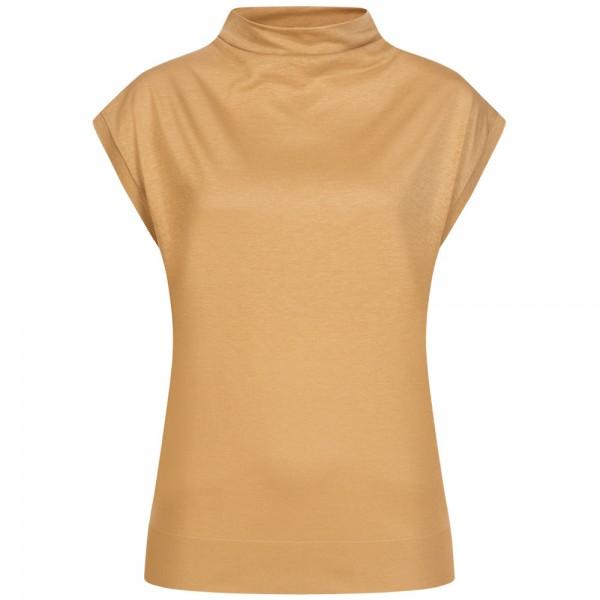 T-Shirt NAMIRA mit Stehkragen
