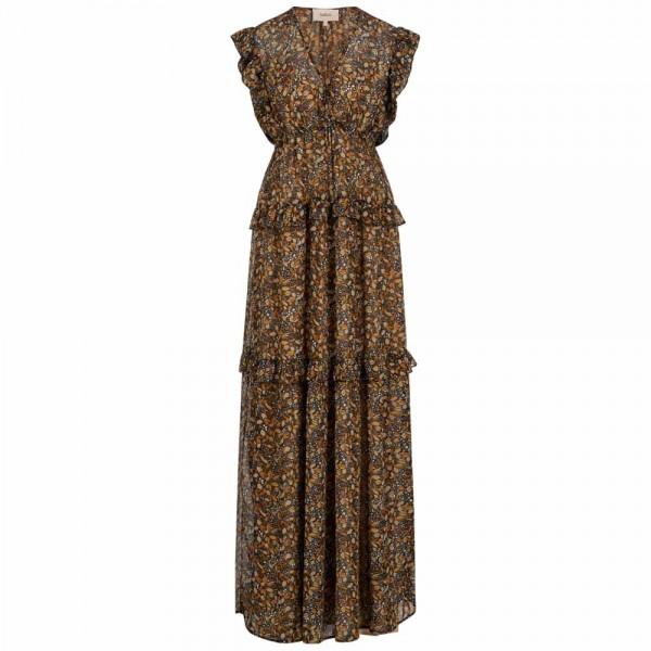 Maxi-Kleid SAMANTHA mit floralem Print