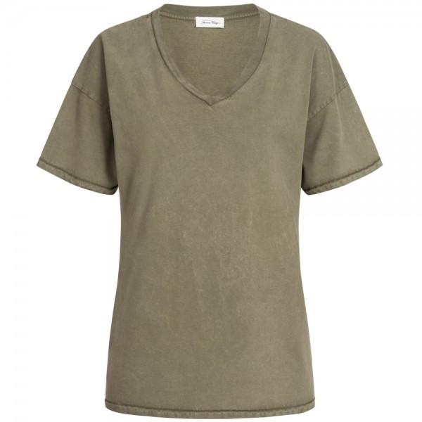 T-Shirt FUZYCITY mit V-Ausschnitt