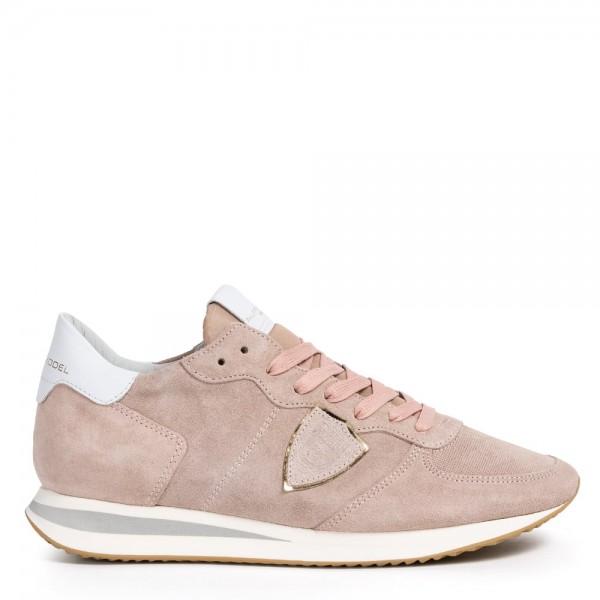 Sneaker TROPEZ Daim Rose