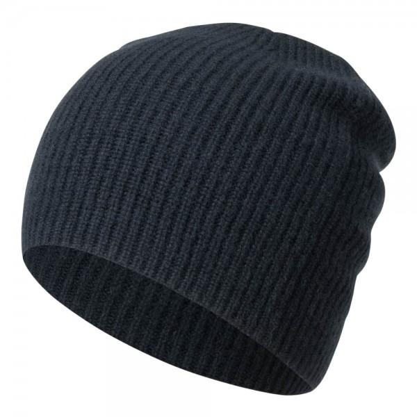 Mütze BROOKLYN aus Cashmere in gerippter Optik