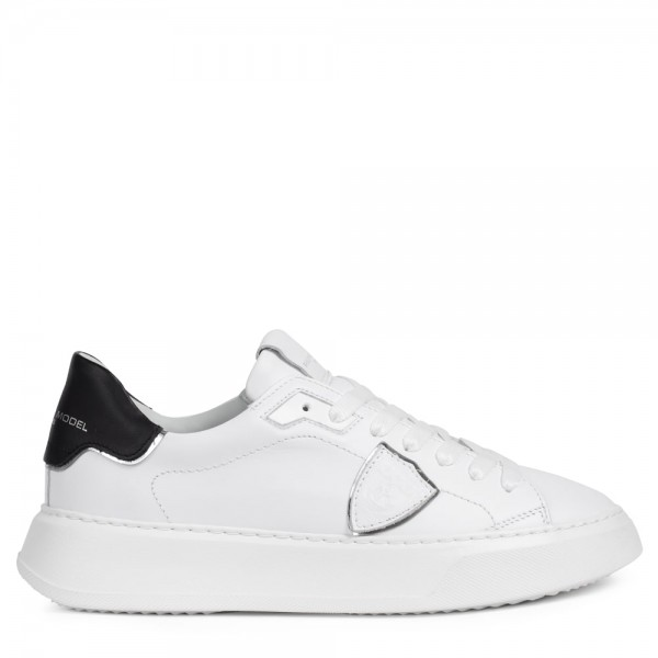 Sneaker TEMPLE Blanc Noir