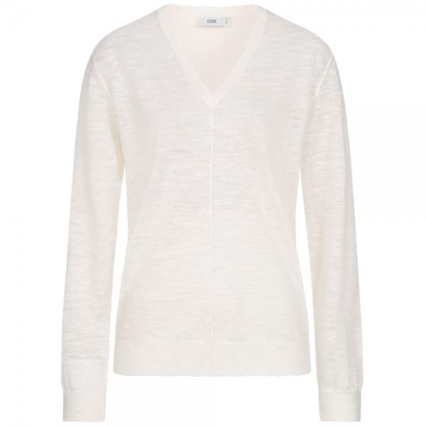 Pullover mit Leinen