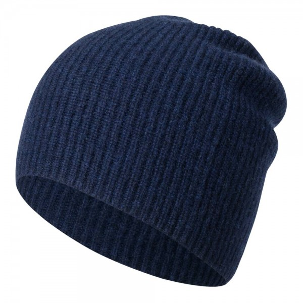 Cashmere-Mütze BROOKLYN in gerippter Optik