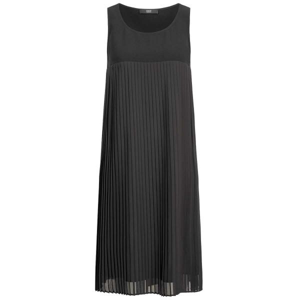 Plissee-Kleid ohne Ärmel