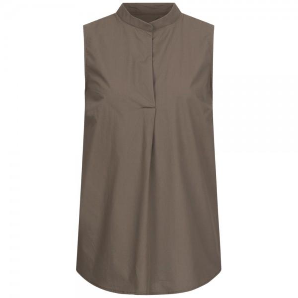 Ärmellose Bluse DERRY aus Baumwolle