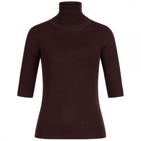 Rollkragen-Pullover ELBOW aus Merinowolle