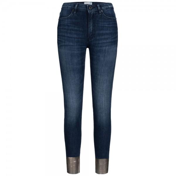 Jeans IRIS FONDO mit Details in Metallic-Optik