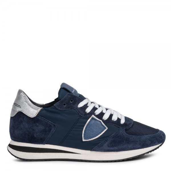 Sneaker TROPEZ Bleu Argent