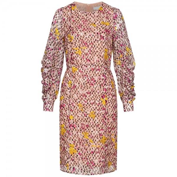 Kleid DOUCIE aus Viskose und Seide