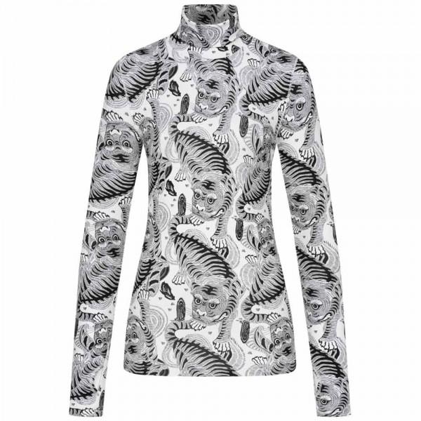 Longsleeve CAT NIP mit Tiger-Print