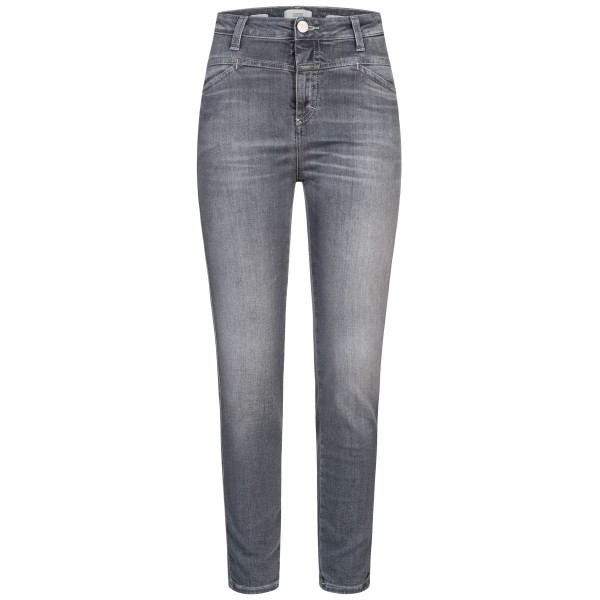 Closed Jeans Hose Skinny Pusher Mid Grey Front