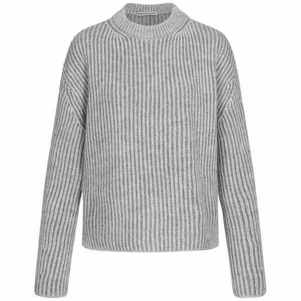 Rippstrick-Pullover HELENI mit Alpaka