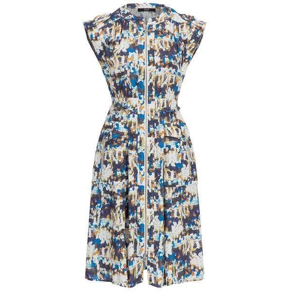 Kleid mit Zippern